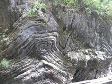 岩层变形褶皱