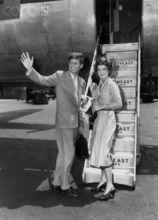 肯尼迪与妻子杰奎琳
