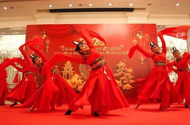 伊斯坦布尔华人华侨喜迎春节