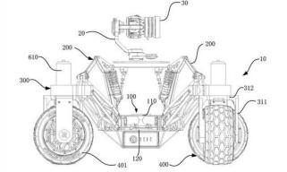 大疆无人车专利曝光 加装360度全向轮及稳定摄像头
